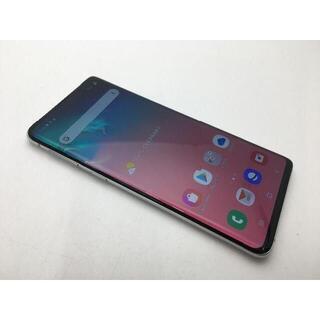 SAMSUNG - SIMフリー au Galaxy S10 SCV41ホワイト◆美品◆603