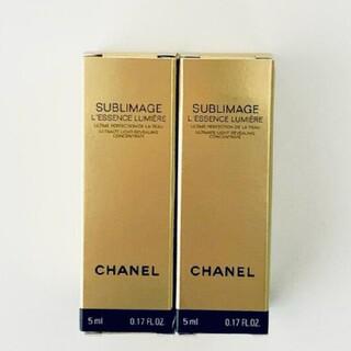 CHANEL - 未使用  シャネル サブリマージュレサンスルミエール 美容液 サンプル15ml