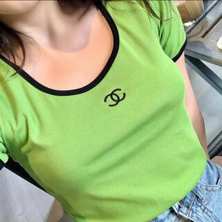 ZARA - ロゴトップス Tシャツ 韓国ファッション