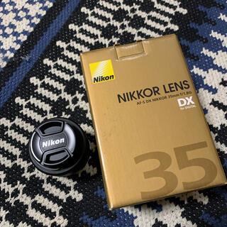 Nikon - ニコン Nikkor 35mm F/1.8G AF-S DX レンズ
