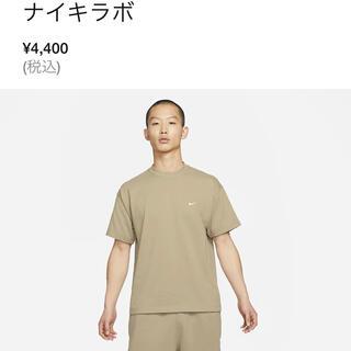 NIKE - ナイキラボ 無地Tシャツ スウォッシュ刺繍