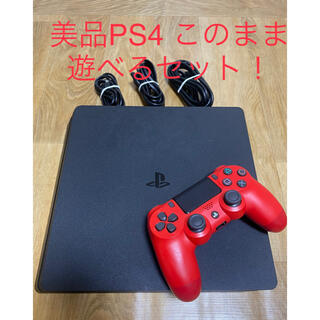 PlayStation4 - PS4 本体CUH-2100Aプレイステーション4このまま遊べるセット
