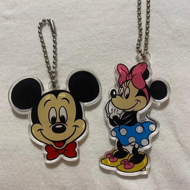 Disney(ディズニー)のディズニーキーホルダー ストラップ5本セット エンタメ/ホビーのおもちゃ/ぬいぐるみ(キャラクターグッズ)の商品写真