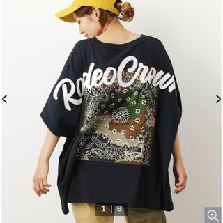 ロデオクラウンズワイドボウル(RODEO CROWNS WIDE BOWL)のロデオクラウンズワイドボウル アソートバンダナTシャツ(Tシャツ(半袖/袖なし))
