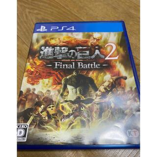 PlayStation4 - 進撃の巨人2-Final Battle-PS4ソフト