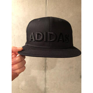 adidas - adidas キャップ ブラック