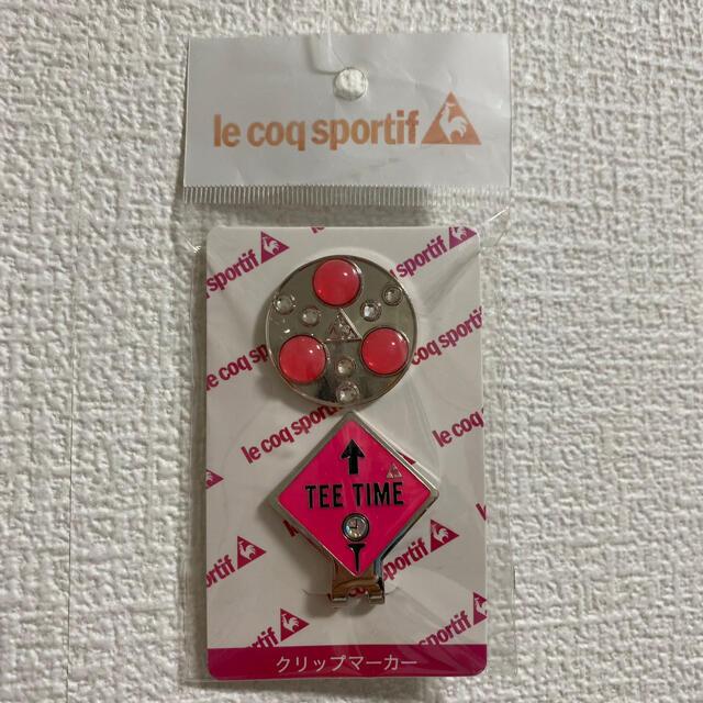 le coq sportif(ルコックスポルティフ)のle coq sportif ルコックスポルティフ ゴルフ ポケットマーカー スポーツ/アウトドアのゴルフ(その他)の商品写真
