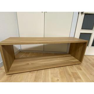MUJI (無印良品) - 無印 テーブルベンチ ローテーブル