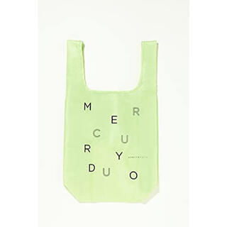 マーキュリーデュオ(MERCURYDUO)のモア 付録 マーキュリーデュオ  ライムグリーン色 エコバッグ(エコバッグ)