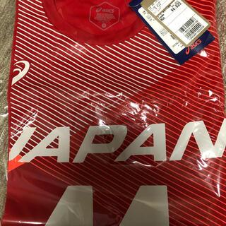 アシックス(asics)の西田有志 日本代表応援Tシャツ S(スポーツ選手)