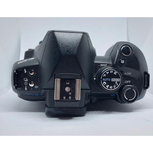 OLYMPUS(オリンパス)のオリンパス デジタル一眼カメラ E-520 ダブルズームキット おまけ付き スマホ/家電/カメラのカメラ(デジタル一眼)の商品写真