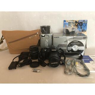 OLYMPUS - オリンパス デジタル一眼カメラ E-520 ダブルズームキット おまけ付き