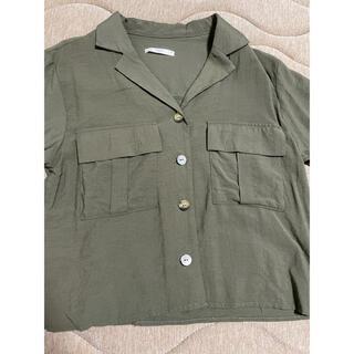 レトロガール(RETRO GIRL)のカーキシャツ(シャツ/ブラウス(長袖/七分))