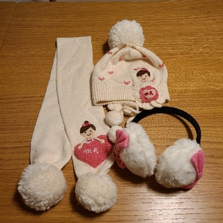 ミキハウス(mikihouse)のミキハウス リーナちゃん 冬セット(帽子)
