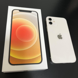 iPhone - iPhone12 ホワイト 64GB SIMフリー