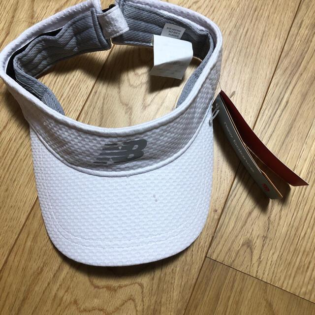 New Balance(ニューバランス)のnew balance サンバイザー メンズの帽子(サンバイザー)の商品写真