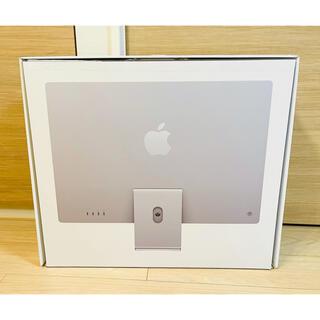 Apple - 【ほぼ新品】Apple iMac24インチ 512GB シルバー