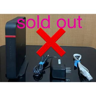 バッファロー(Buffalo)のバッファロー BUFFALO WiFi 無線LAN ルーター(PC周辺機器)