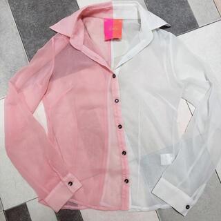 レディー(Rady)のバイカラーシャツ(シャツ/ブラウス(長袖/七分))