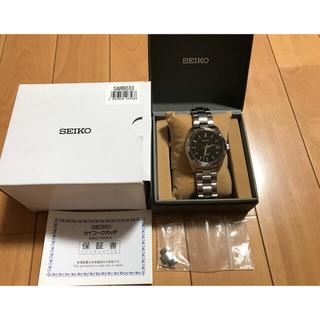 SEIKO - 最終モデル廃盤品 名作セイコー SARB033 /SEIKO 6R15D 腕時計