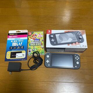 Nintendo Switch - 即購入OK Nintendo Switch Lite グレー マリオ+おまけ付き
