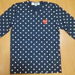 コムデギャルソン(COMME des GARCONS)の新品未使用 コム・デ・ギャルソン レディース長袖シャツ ポルカドット(Tシャツ(長袖/七分))