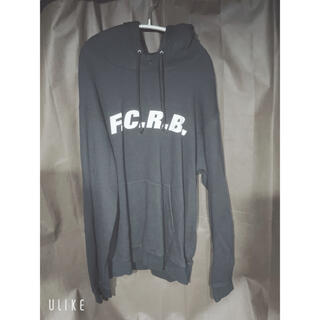エフシーアールビー(F.C.R.B.)のFCRBパーカー ブラック Mサイズ(パーカー)