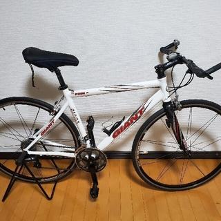 ジャイアント(Giant)のGIANT ジャイアント FCR2 フラットバーロード クロスバイク 2005年(自転車本体)