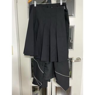 BLACK COMME des GARCONS - BLACK COMME des GARCONS 巻きスカートパンツ