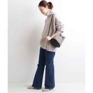 IENA - IENA ウールミラノリブ タートルネックプルオーバー◯ ¥16,500