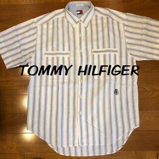 トミーヒルフィガー(TOMMY HILFIGER)のトミーヒルフィガー美品 半袖シャツ(Tシャツ/カットソー(半袖/袖なし))