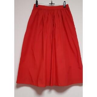 ビューティアンドユースユナイテッドアローズ(BEAUTY&YOUTH UNITED ARROWS)のsale・UNITED ARROWS・赤スカート(ひざ丈スカート)