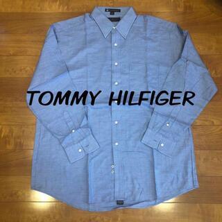 トミーヒルフィガー(TOMMY HILFIGER)のシャツ トミーヒルフィガー長袖シャツ 美品(Tシャツ/カットソー(半袖/袖なし))
