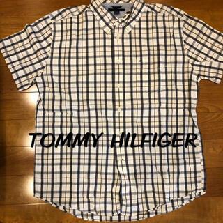 トミーヒルフィガー(TOMMY HILFIGER)の半袖シャツ チェックシャツ トミーヒルフィガー(Tシャツ/カットソー(半袖/袖なし))