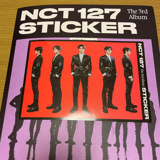 NCT 127 STICKER ジェヒョン ステッカー