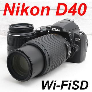 Nikon - ❤️カメラケース付き❤️スマホ転送❤️Nikon D40