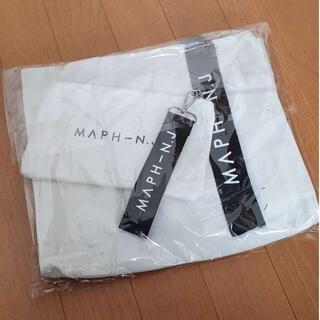【大人気♪ 】新品♡ キャンバス ショルダーバッグ 白 a4 トートバッグ(ショルダーバッグ)