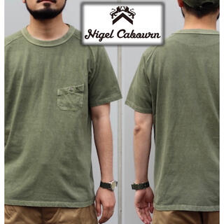 RRL - Nigel Cabourn ベーシックポケットTシャツ