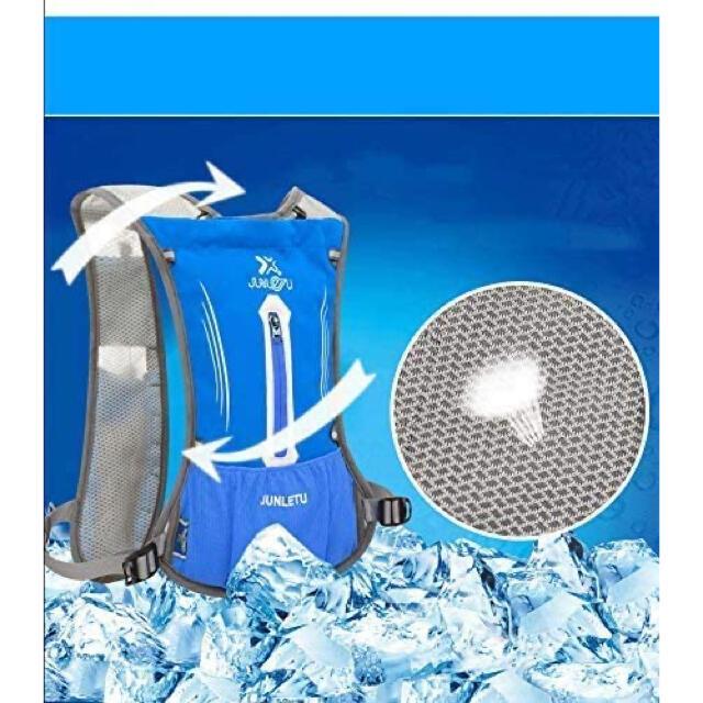 【ランナーの為のリュック】超軽量 ランニング バックパック 光反射 通気 防水  スポーツ/アウトドアのランニング(ウェア)の商品写真