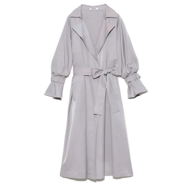snidel(スナイデル)の✳︎新品✳︎SNIDEL スナイデル Sustainableグロストレンチコート レディースのジャケット/アウター(トレンチコート)の商品写真