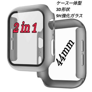 Apple Watch 一体型保護カバー ケース バンド ベルト 42/44mm(その他)