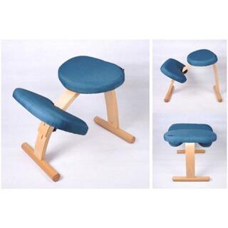 人気爆 バランスチェア 学習椅子 木製 学習チェア イス 姿勢が良くなる 猫背