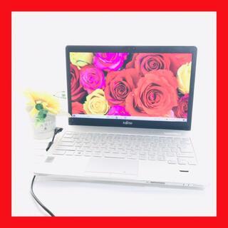 フジツウ(富士通)の【高速PC】カメラ/メモリ12GB/i5/大容量500GB/ノートパソコン(ノートPC)