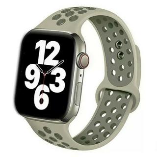 Apple Watch スポーツ バンド 42/44mm スペースフォグ(ラバーベルト)