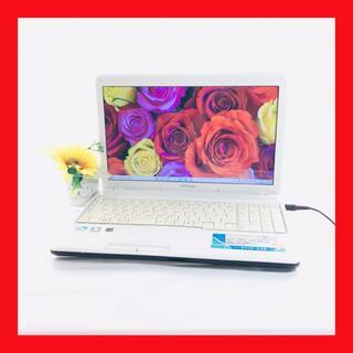 トウシバ(東芝)の【おしゃれPC】大容量500GB/東芝/Dynabook/ノートパソコン(ノートPC)