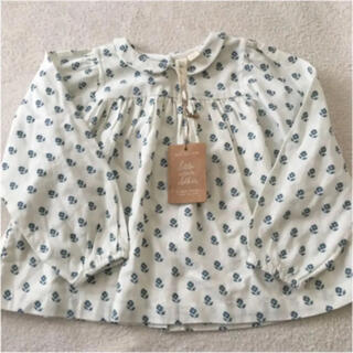 little cotton clothes 5-6歳 ブラウス