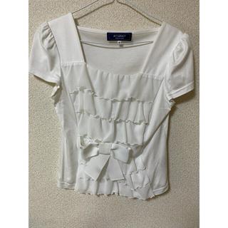 エムズグレイシー(M'S GRACY)のトップス サイズ40(カットソー(半袖/袖なし))