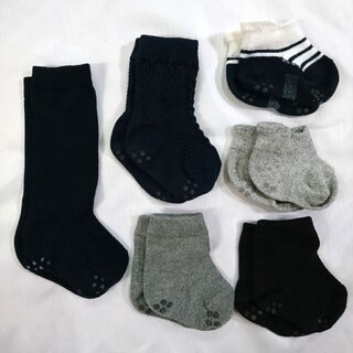 ムジルシリョウヒン(MUJI (無印良品))の無印良品 ベビー 靴下 11~13cm セット(靴下/タイツ)