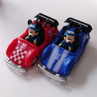ミッキーマウス(ミッキーマウス)の東京ディズニーランド ミッキー プルバックカー ゴーカート TDL ミニカー(キャラクターグッズ)