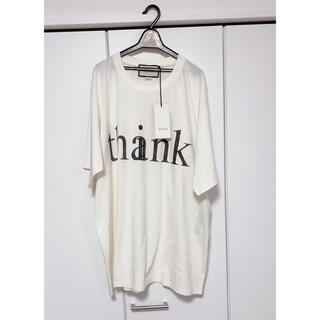 Gucci - GUCCI Tシャツ think thank ヴィンテージ 加工